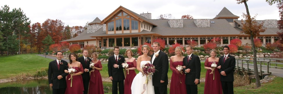 Minnesota Golf Course Weddings